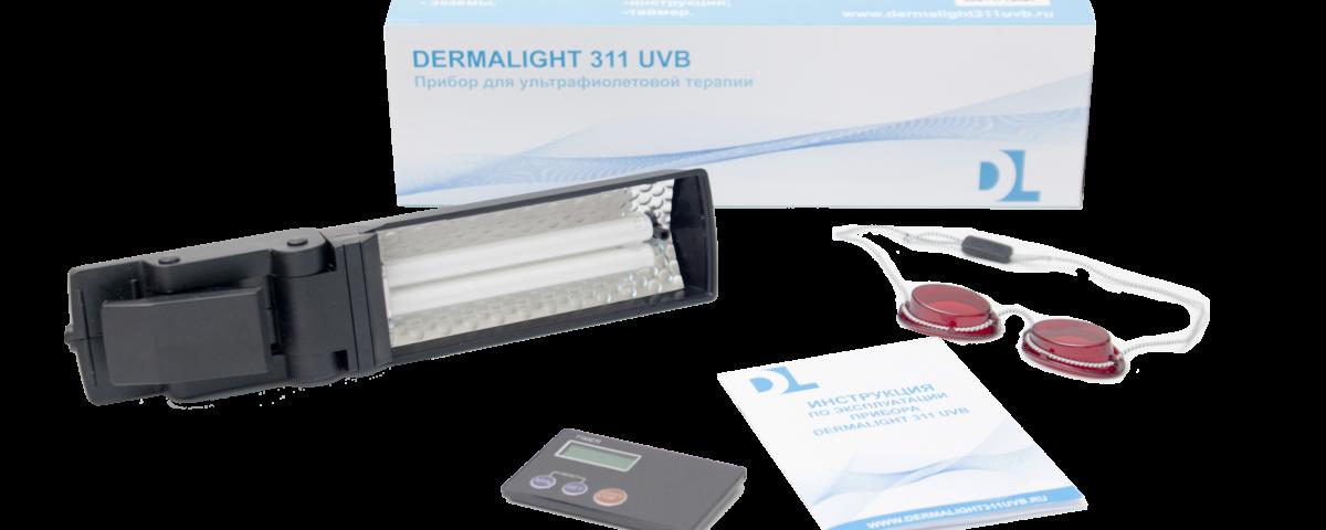 Ультрафиолетовая лампа против витилиго Derrmalight 311 UVB